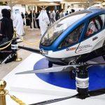 Dubái Anuncia Un Drone Capaz De Transportar Personas