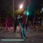 Cali es la primera ciudad de Colombia en instalar semáforos de piso